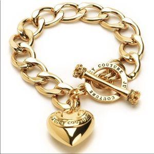 Vintage Juicy Couture link bracelet, never worn!